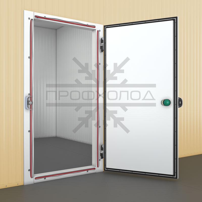Холодильная дверь РДОП с обогреваемым ПЭНом внутри рамы