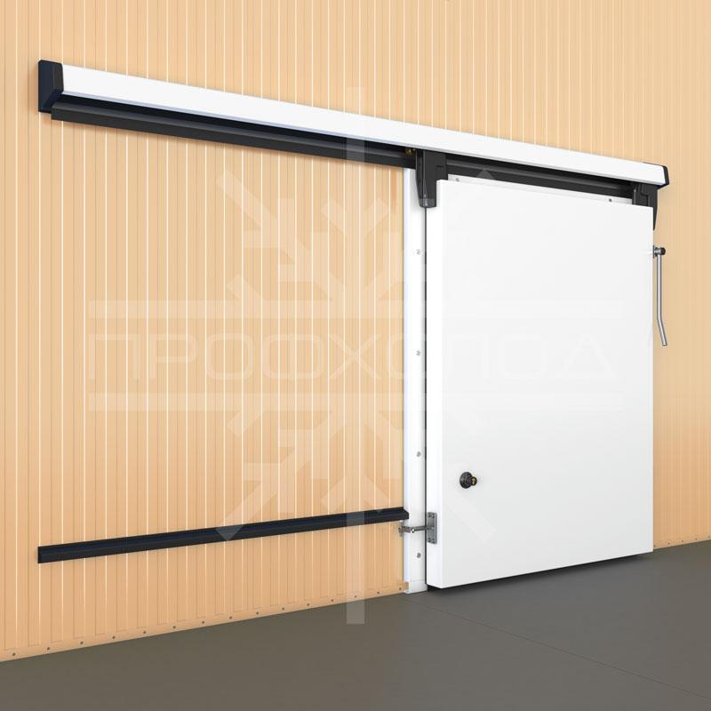 Откатная холодильная дверь левосторонняя