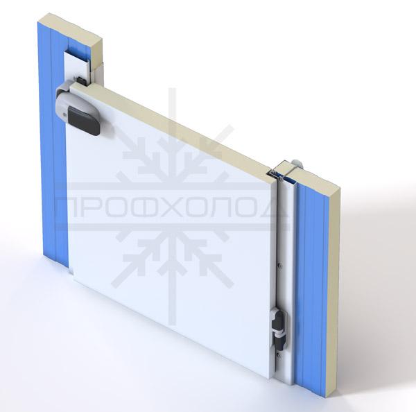 Полупотайная дверь РДОП