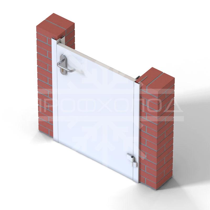 ТДО в кирпичной стене