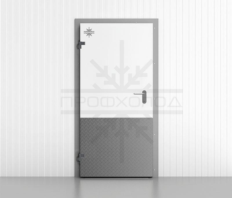 Оборудование двери отбойниками